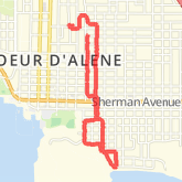 2.88 mi Road Cycling on Jun 8, 2012 4:53 AM