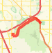 8.75 mile run Run route image