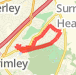 Heatherside run Run route image