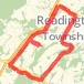 523 to Readington Rd, Holland Brook to Cole Road Run route image