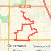 8.22 mi Run in Englewood on Aug 5, 2012 10:13 AM