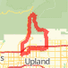Barrett Stoddard Bike Ride route image