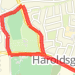 02/20/2010 Rathfarnham Hill Run route image