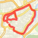 Rode 9.25 km on 24/09/2012 Bike Ride route image