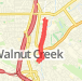 3.28 mile Walk in Walnut Creek on Sep 28, 2012 at 08:44 am Walk route image
