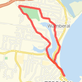 Ran 6.2 km on 01/21/17