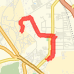Rode 3.95 mi on 08/10/2012 Bike Ride route image