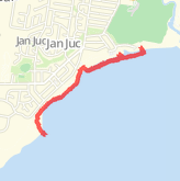 5.37 km Dog Walk in Jan Juc on 19/10/2012 12:56 PM