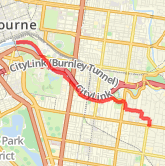6.07 km Dog Walk in Toorak on 23/10/2012 8:49 AM
