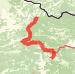 Olot to Mollo Run route image