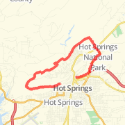 Hot Springs Running Routes 650 Running Trails in Hot Springs AR