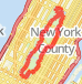 central park loop Bike Ride route image