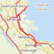 South San Francisco Bike Trails Maps of Bike Routes in South San