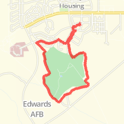 Edwards Air Force Base Running Routes The best running routes in