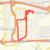 Walked 8.59 km on 04/21/18