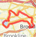 7-miler Run route image