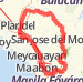 bulacan loop Bike Ride route image