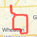6 mile Wheaton-cross Run route image