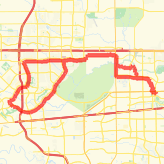 Rode 38.65 mi on 38.65mi road cycling on 7/13/13