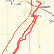 Ashwaubenon Bike Trails Maps of Bike Routes in Ashwaubenon WI