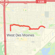 West Des Moines Bike Trails Maps of Bike Routes in West Des Moines IA