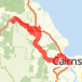 cairns Bike Ride route image