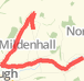 7.43km road cycling on 03/02/2014 Bike Ride route image