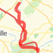 VFNHP to Collegeville, PA Bike Ride route image