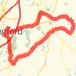 Higganum Bike Ride route image