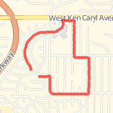 Walked 1.63 mi on 03/06/2014