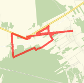 Rode 10.84 km on 08.03.2014