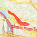 2.14 mi run on 05/09/2014 Run route image