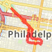 2.96 mi run on 5/11/2014 Run route image