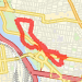 2.75 mi run on 05/24/2014 Run route image