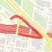 0.42 mi run on 05/29/2014 Run route image