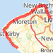 Wirral Walk Run route image