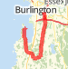 Shelburne point  Bike Ride route image