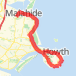 Malahide- Hill of Howth loop Run route image