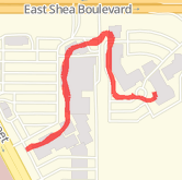 Walked 0.61 mi on 10/7/2014