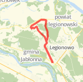 Rode 21.57 km on 19.10.2014