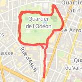Ran 6.10 km on 29/11/14