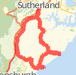 Sutho/W/fall/Gairie/Wattamolla/Audley/Sutho Bike Ride route image