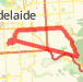 19.81 km General Road Cycling in Goodwood on 14/01/2012 7:53 AM Bike Ride route image