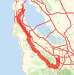 Mission to Cupertino via Skyline Bike Ride route image