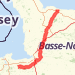 Euro camp Bike Ride route image