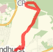 5.95 mi Run on 20 Mar 2012 13:19 Run route image