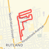 Walked 3.21 mi on 08/11/2015