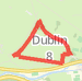 Short Phonix Park Route Run route image