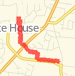 3.12 mi Run in White House on Apr 19, 2012 7:12 PM Run route image