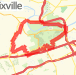 Valley Forge Hills Loop Bike Ride route image